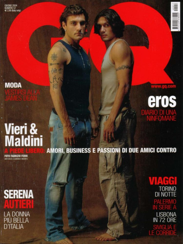 ¿Cuánto mide Chris Hemsworth? - Real height GQ-VieriMaldini-1-4-2004