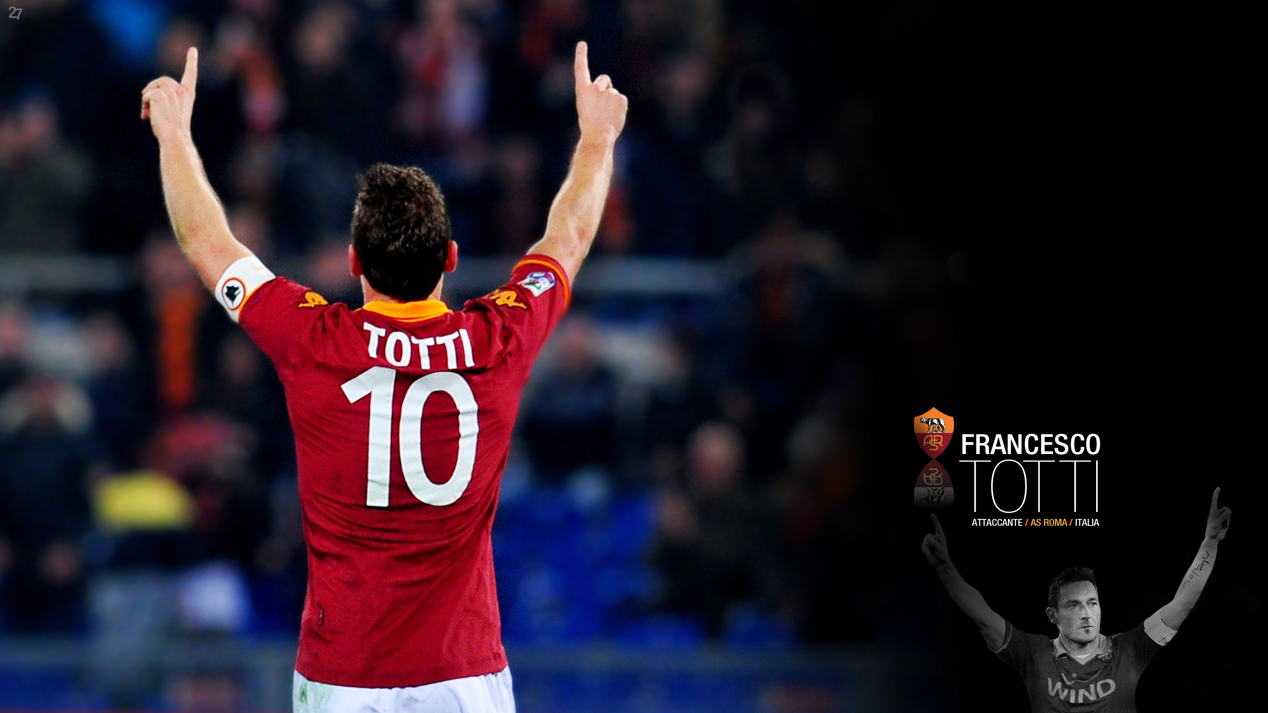 Francesco Totti #226 Wallpapers – Forza27