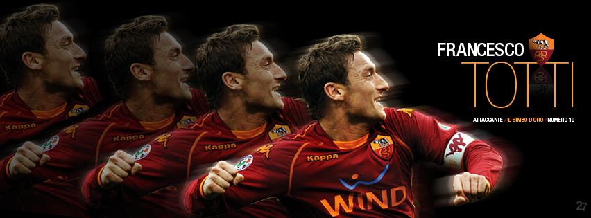 AS Roma Signatures / Facebook cover photos – Forza27