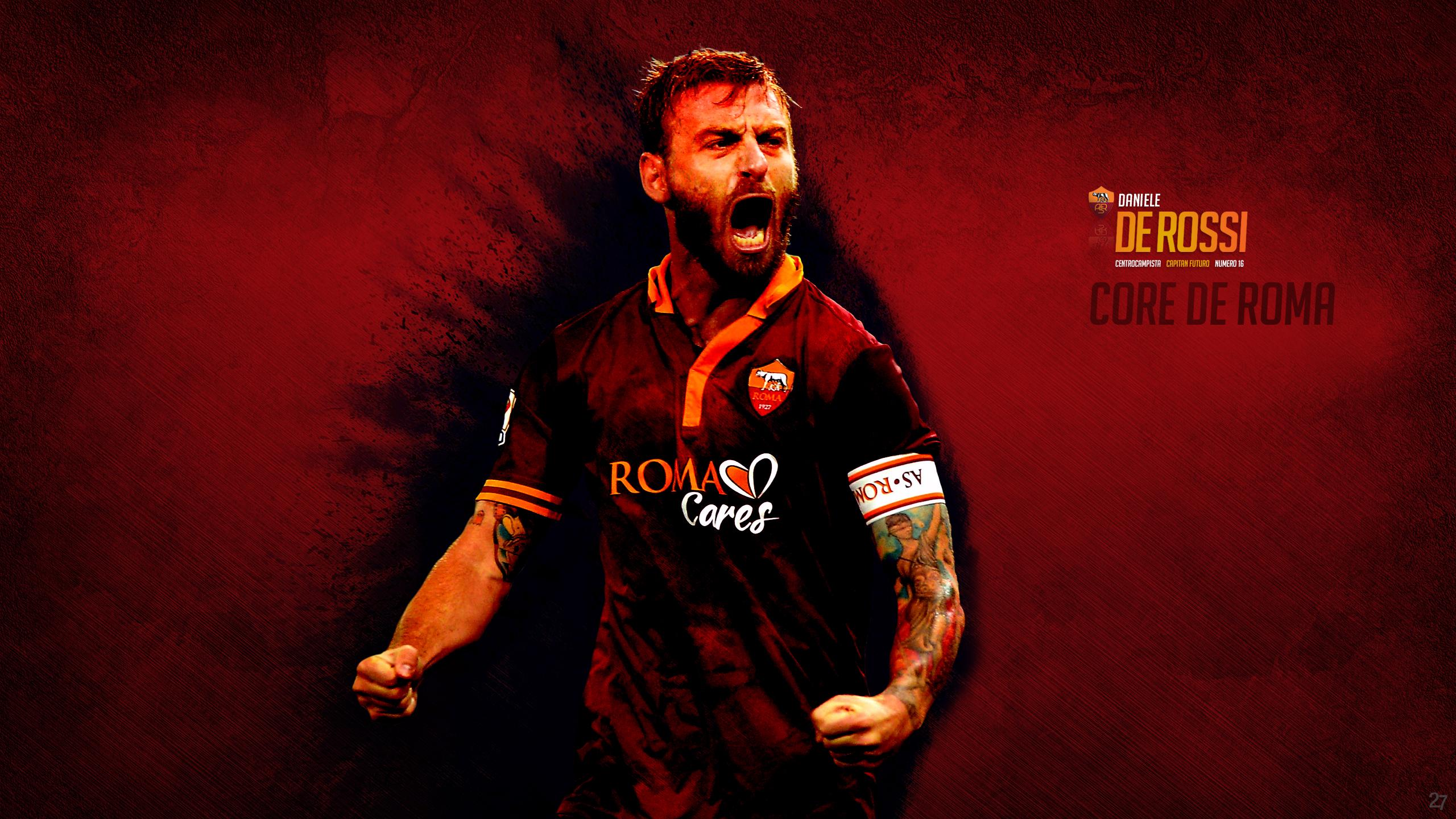 Daniele De Rossi – Core de Roma – Forza27