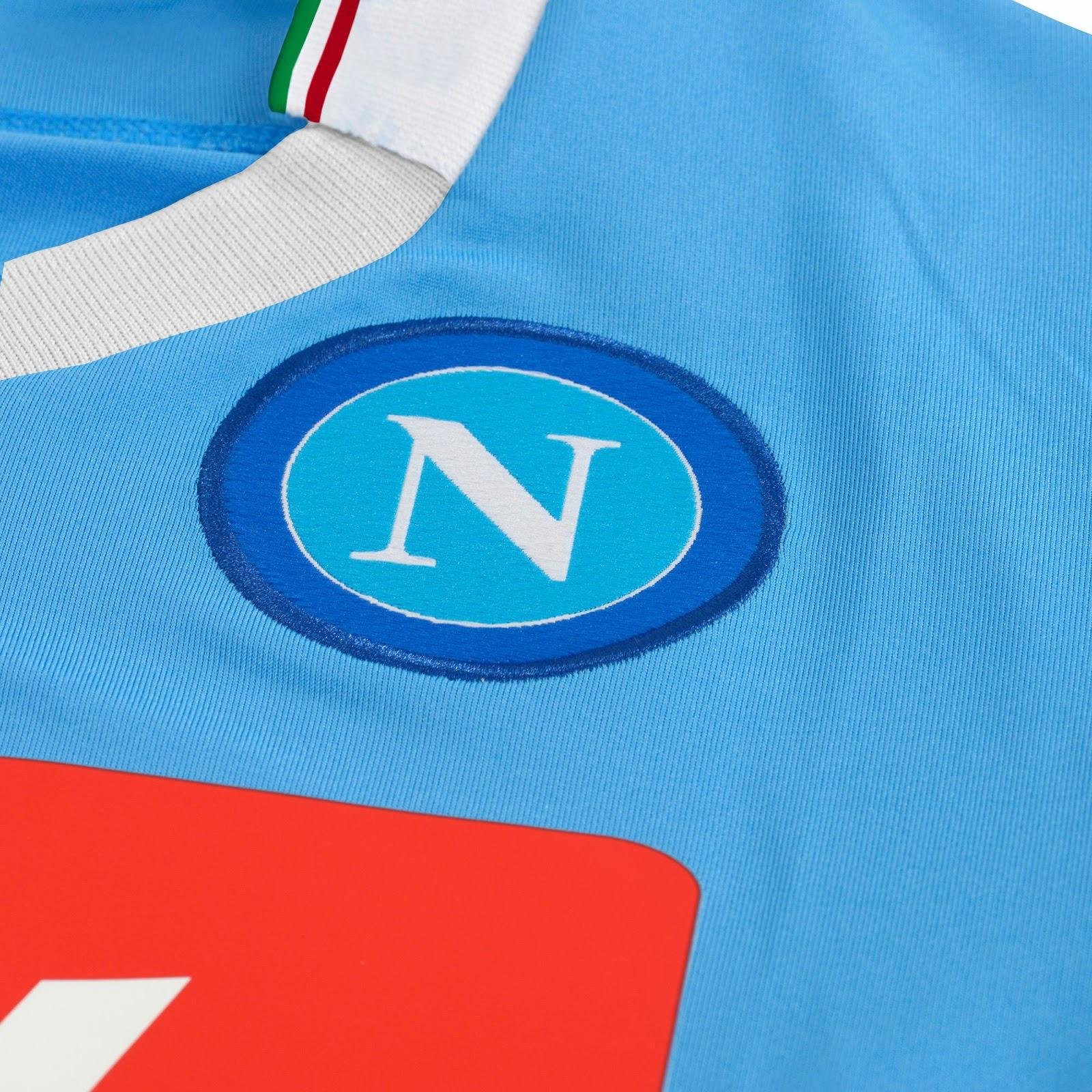 SSC Napoli 2014 Coppa Italia Home Kit (4)