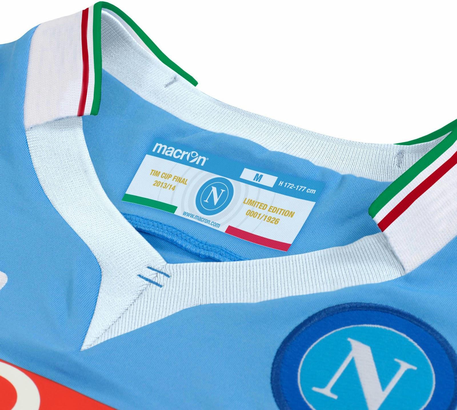 SSC Napoli 2014 Coppa Italia Home Kit (7)