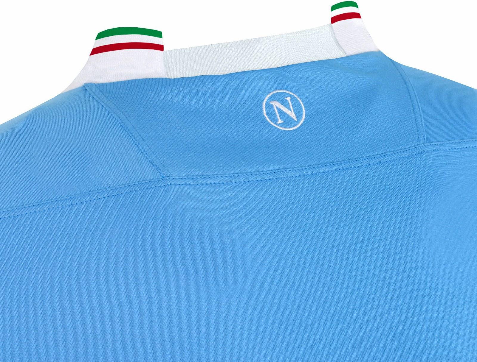 SSC Napoli 2014 Coppa Italia Home Kit (8)