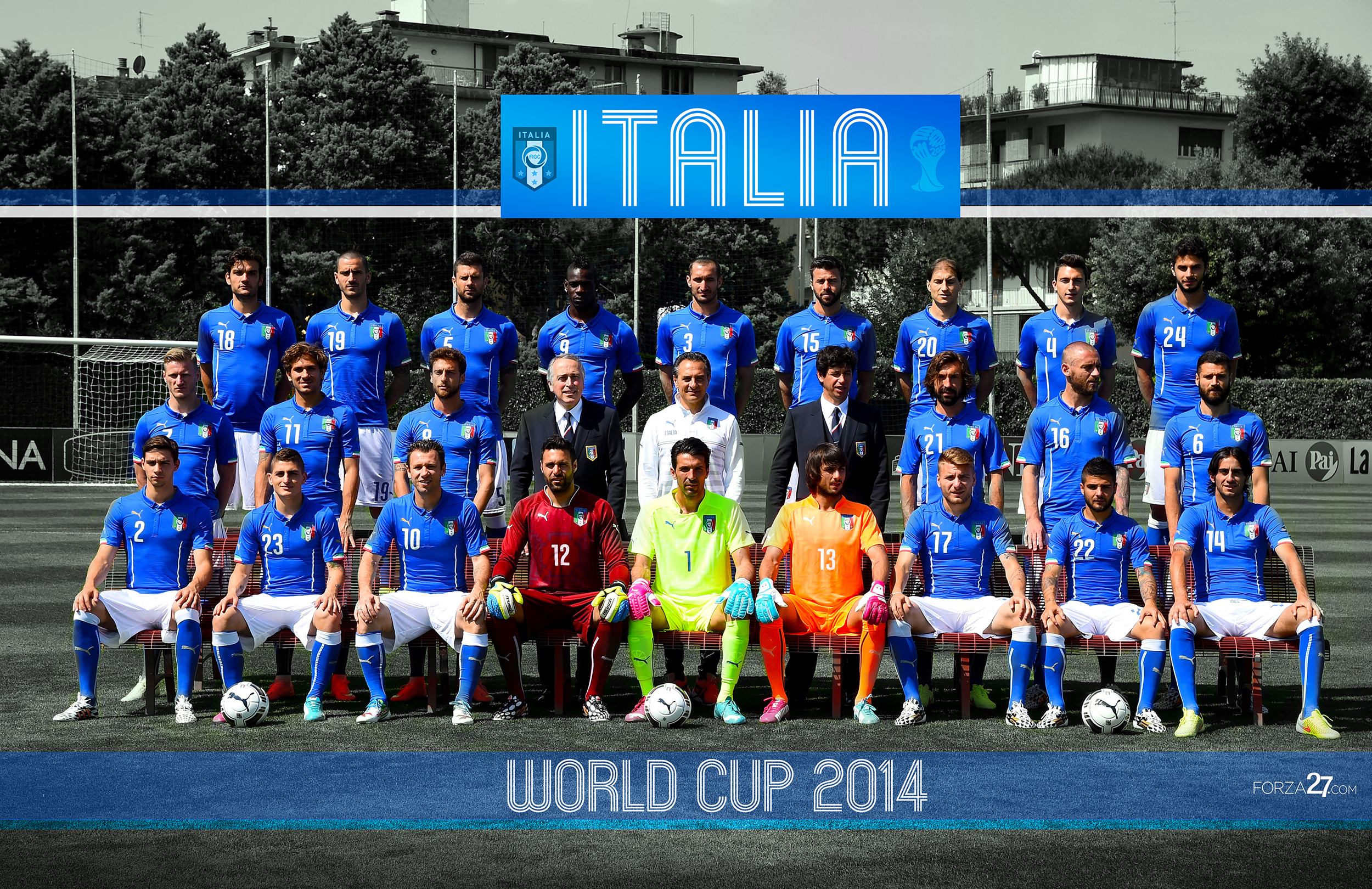 Italy Team Photo And Portraits