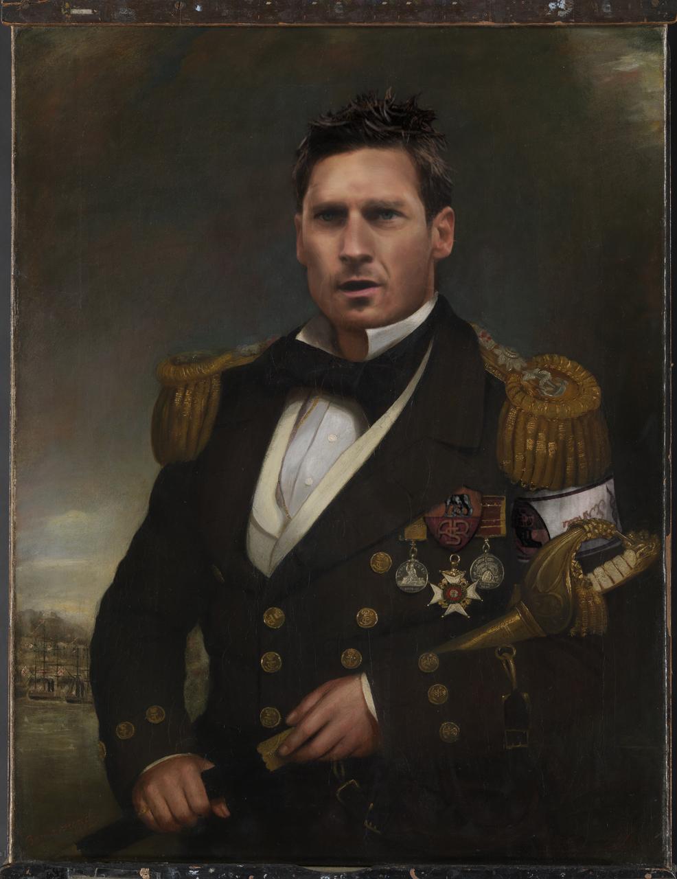 Captain Sir Wiliam Hutcheon Hall 1797 - 1878 BHC2733