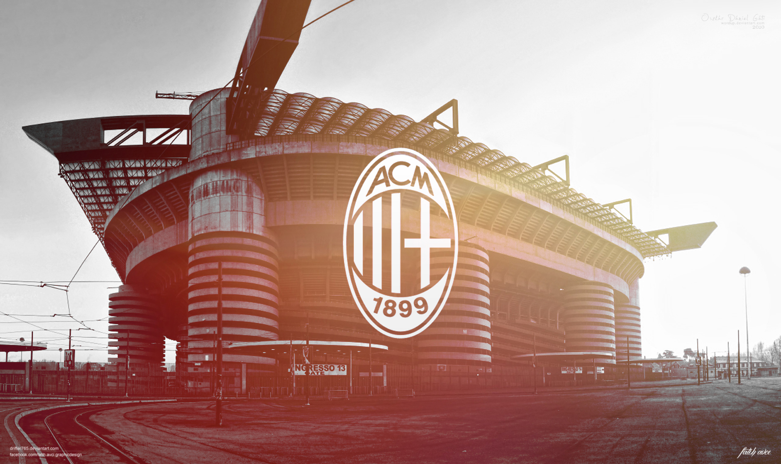 Hd wallpaper ac milan - Ac Milan By Drifter765