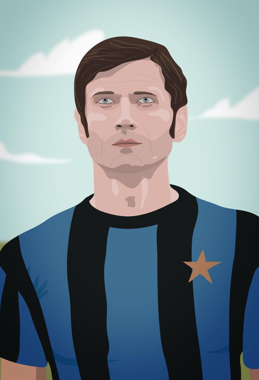 Giacinto Facchetti Picture Card – Forza27