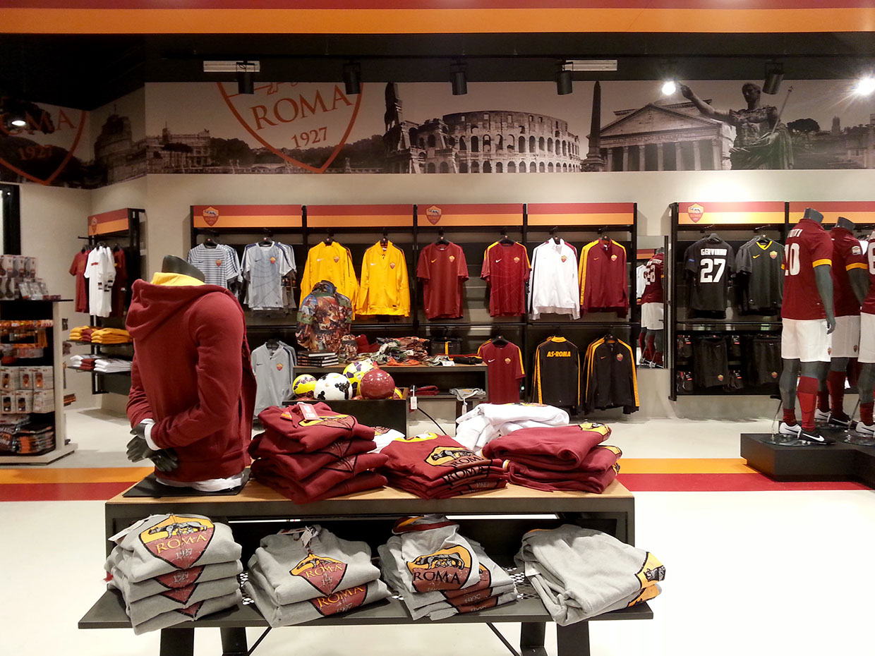 AS Roma Store Branding – Forza27