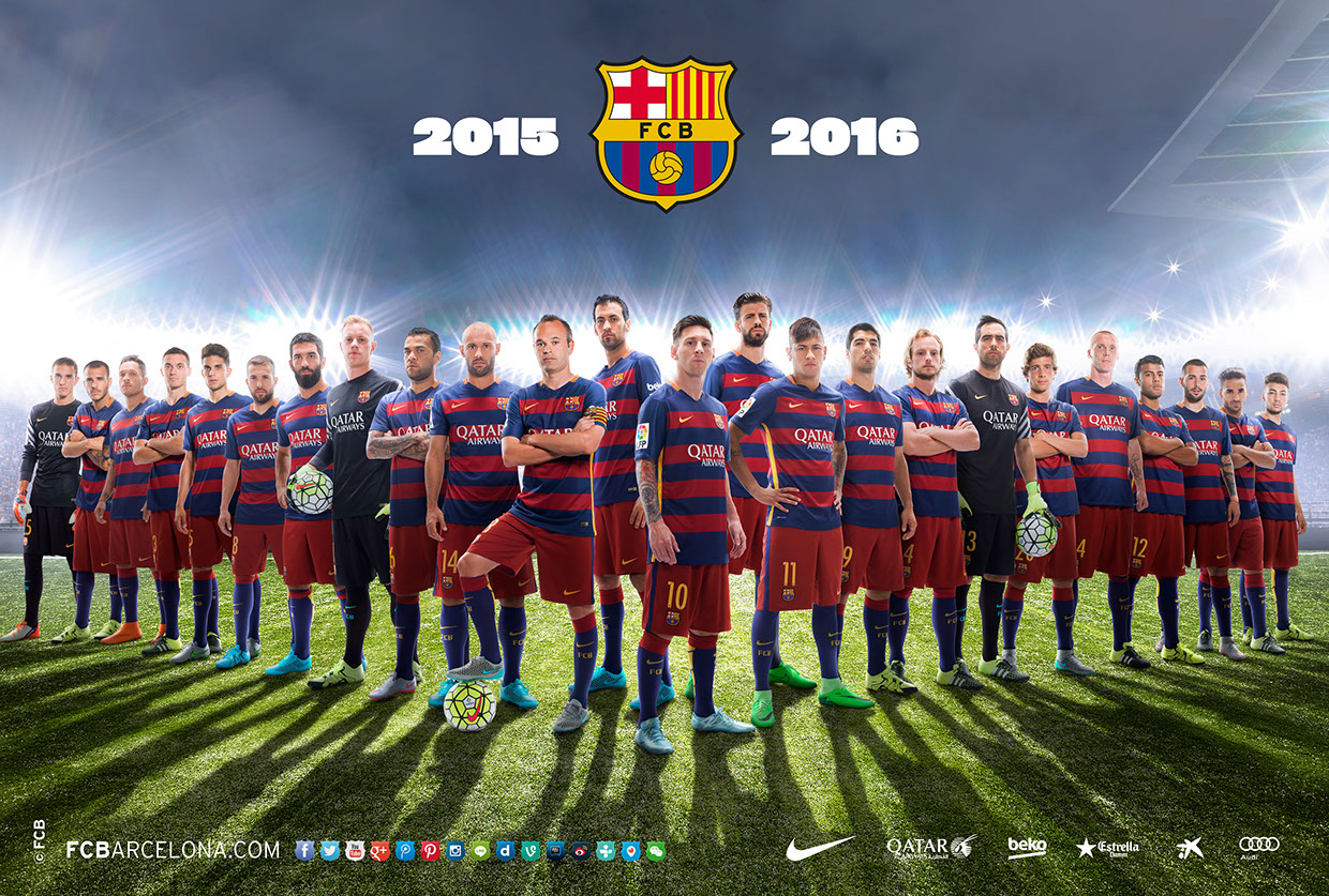 Poster fc barcelona 3d / Clinic movie trailer