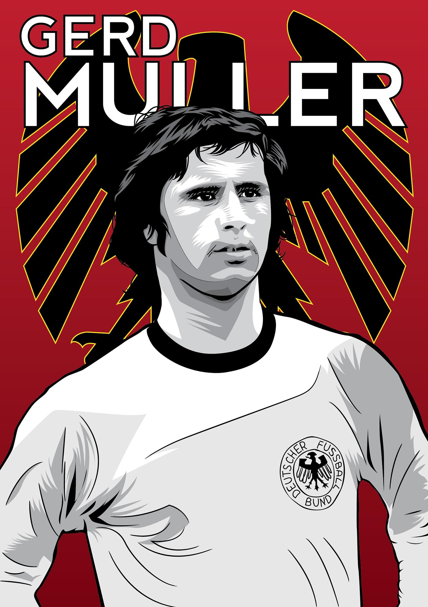 Cruyff & Muller by Diego Franzese – Forza27