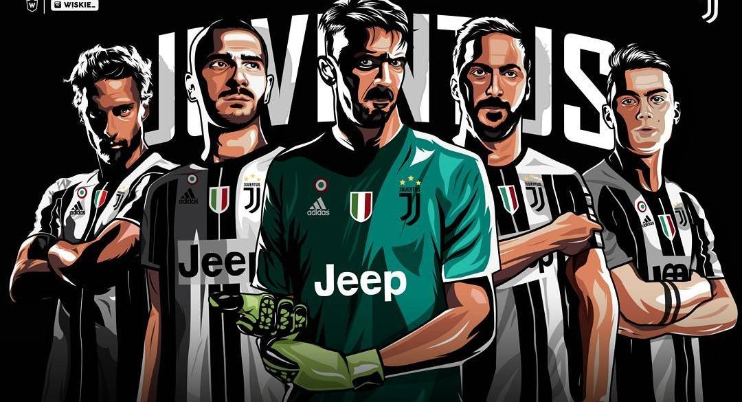 Wiskie Design Lab Juventus Illustrations Squad Forza27