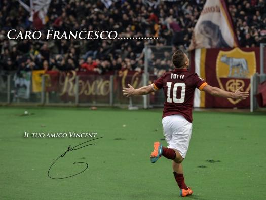Thanks Totti – Totti Day Fan Art – Forza27