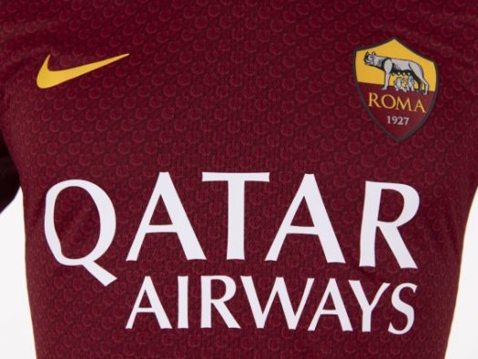 5acb1a3e726 The new home shirt will be worn by Roma for the first time during Roma v  Juventus in Serie A on Sunday, May 13, and goes on general sale from Monday  17 ...
