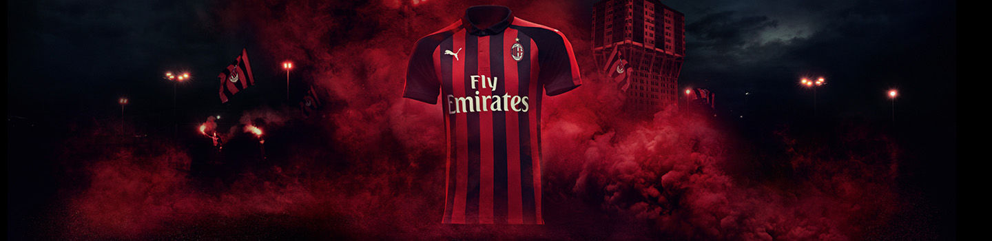AC Milan 2018 19 Home Kit By Puma Forza27