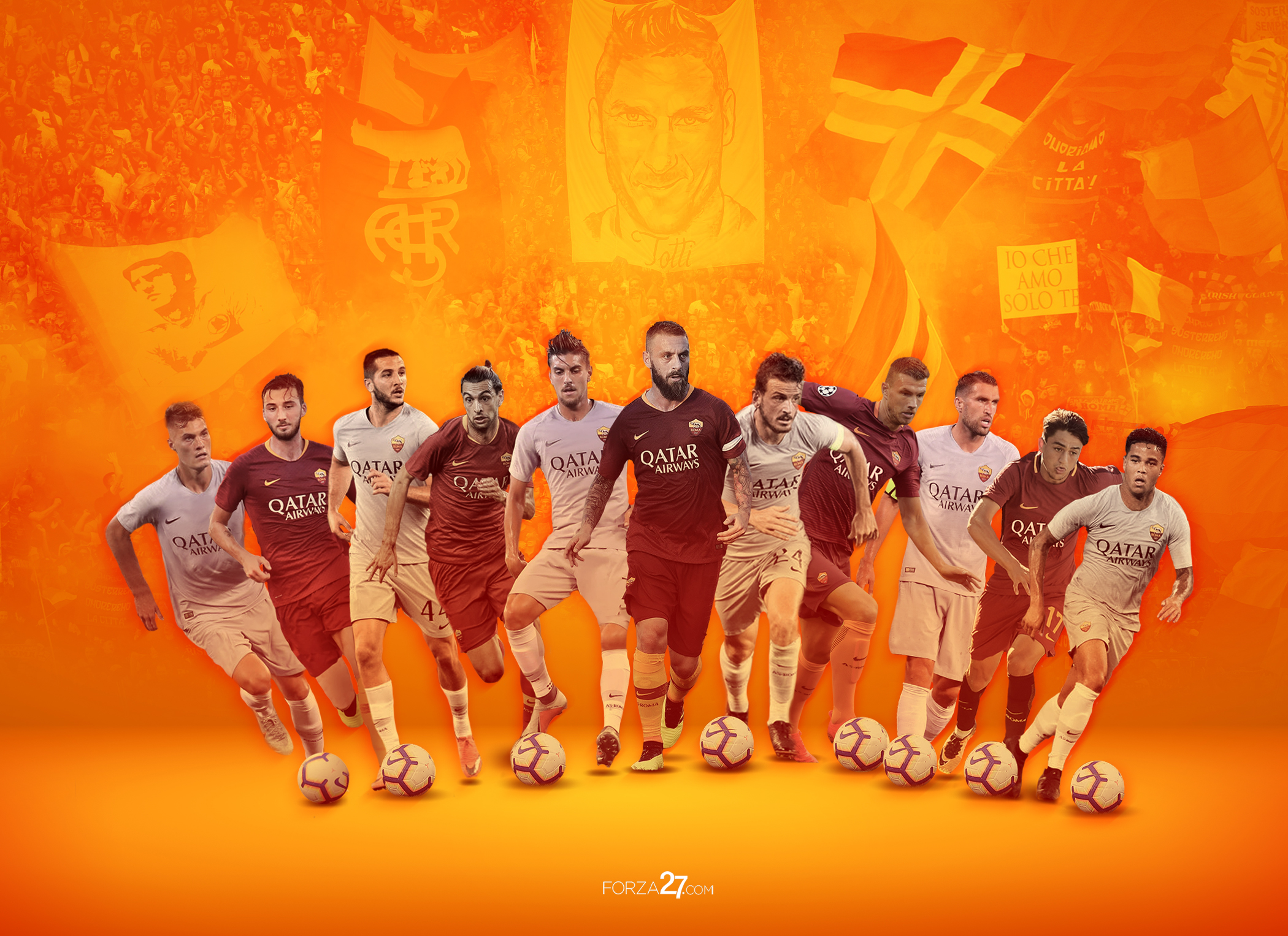 AS Roma Vintage Photo Collection – Digitally Retouched ...