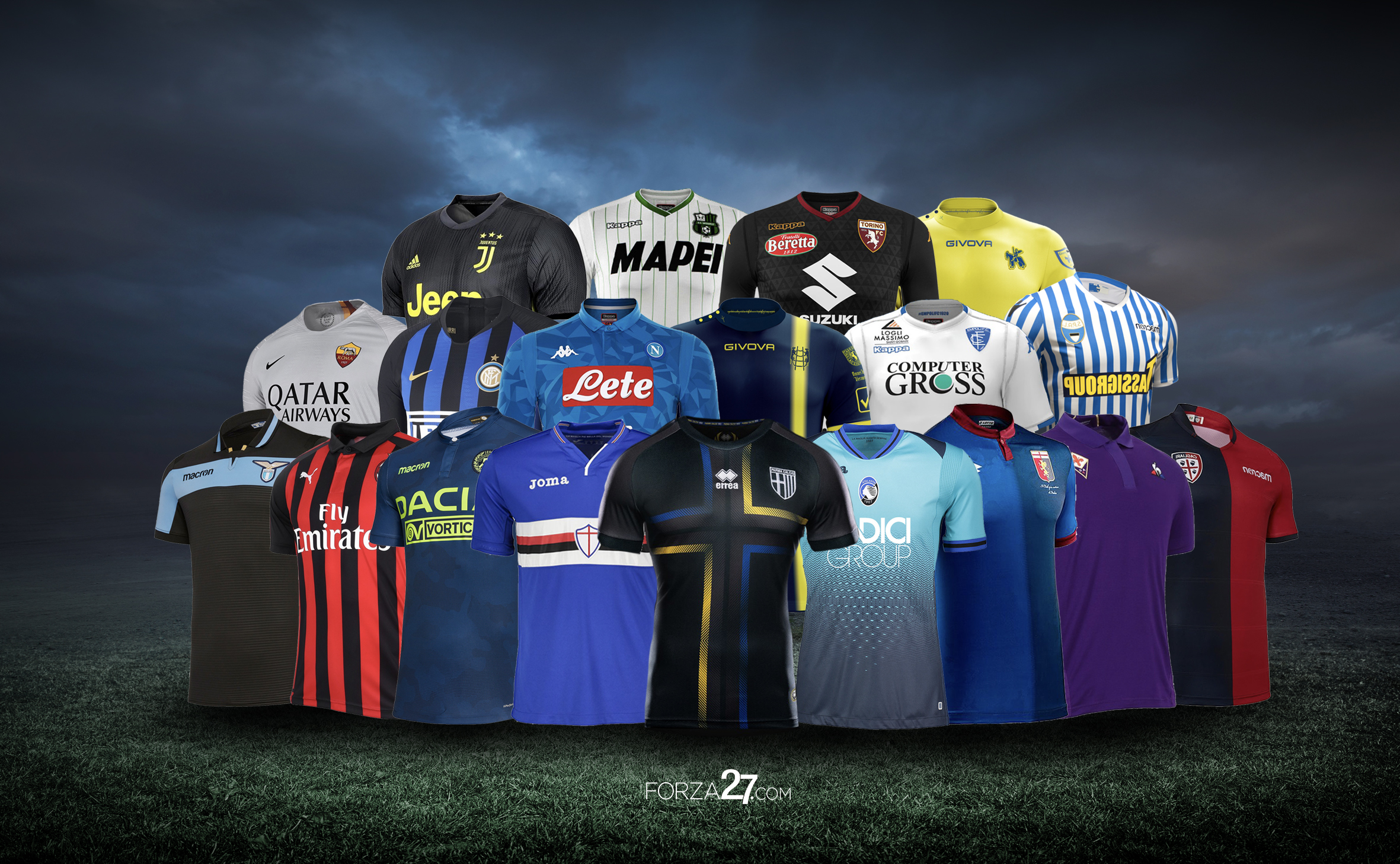 size 40 4d044 5e0be Forza27's Serie A 2018-19 Kit Review – Forza27