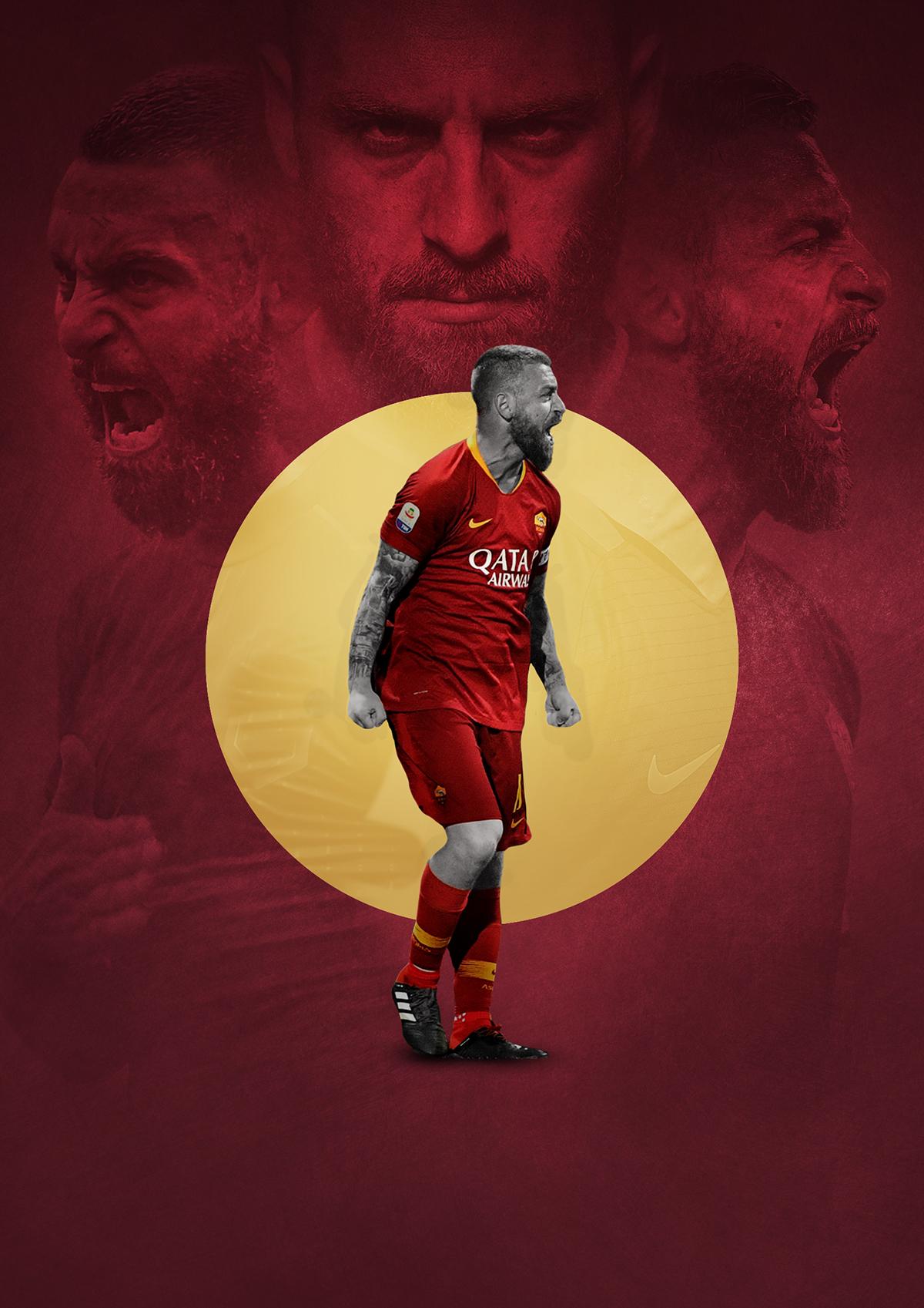 Daniele De Rossi – Warrior of Rome – Forza27