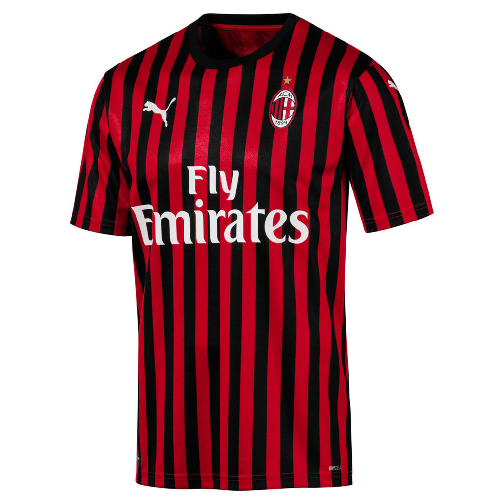 Ac Milan 2019 20 Home Kit By Puma Forza27