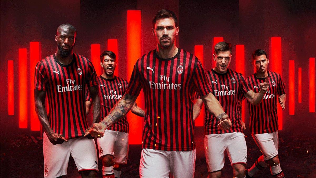 AC Milan Home, Away & 3rd Kits 2019/20 – Forza27