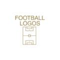 Minimal Football Logos by Ioannis Sideris