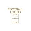 Minimal Football Logos by Ioannis Sideris