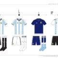 Argentina Football Kit History