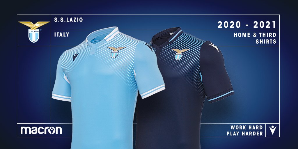 Lazio 2020 21 Home 3rd Kits By Macron Forza27