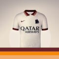 AS ROMA 2020/21 AWAY KIT BY NIKE