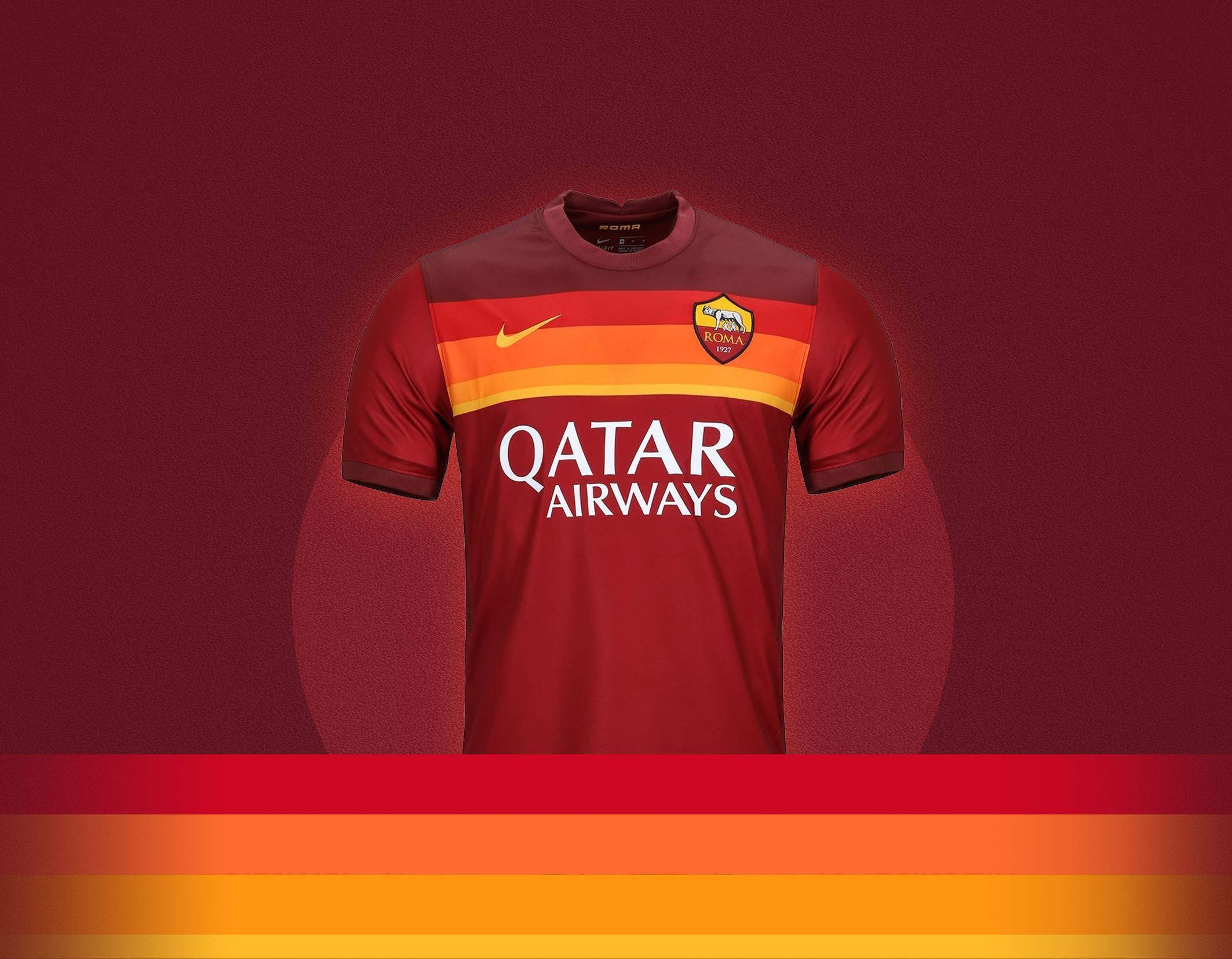 AS Roma 2020/21 Home Kit Overview – Forza27
