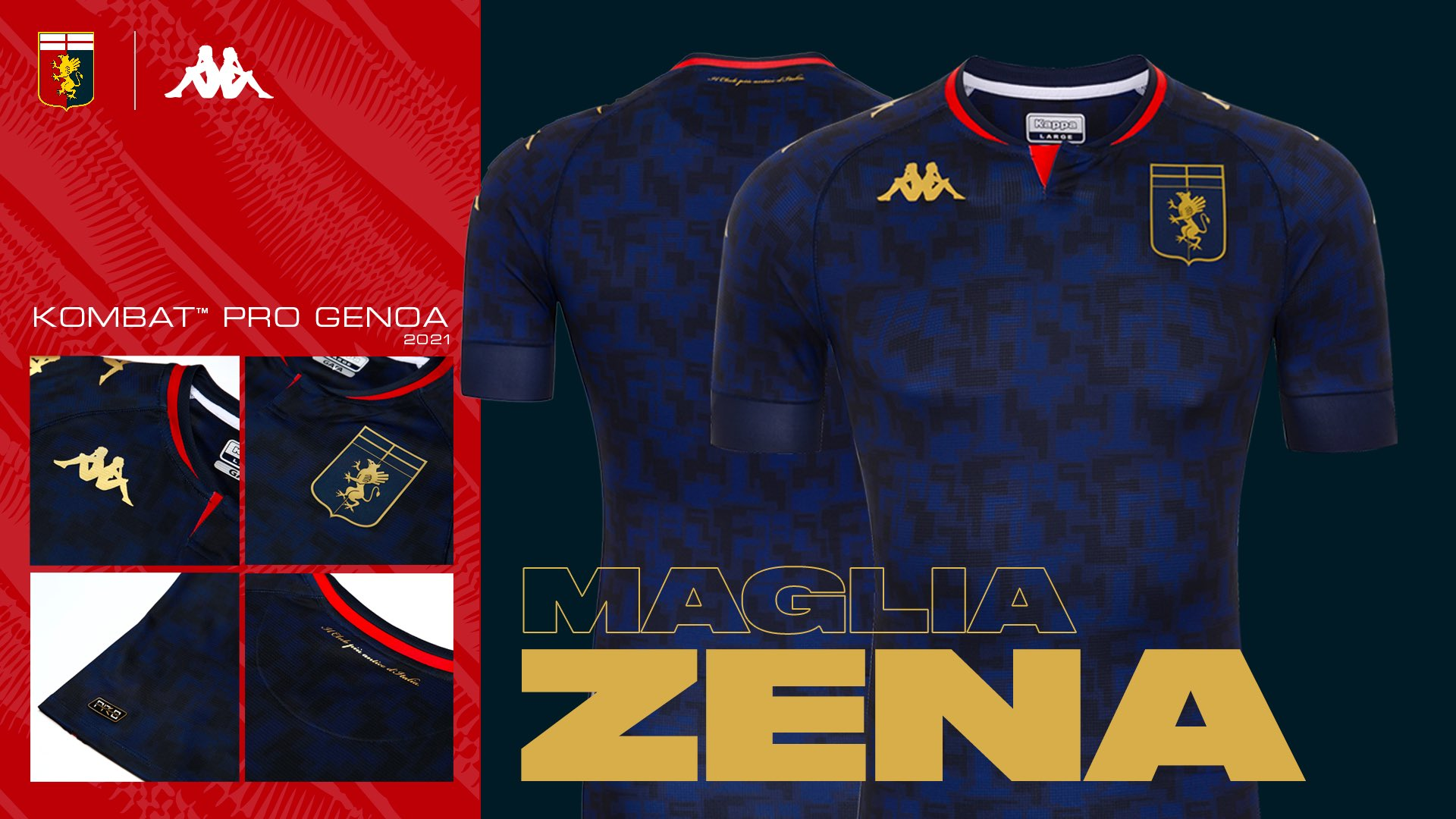 Genoa Away & 3rd kits for Serie A 2020/21 – Forza27