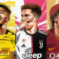 Futebol é Arte: Player Illustrations by illustraball
