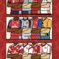 Football Shirts Through the Years by Peter O'Toole