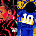 Vibrant Football Illustrations by Marcelo Mariano