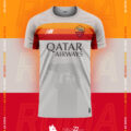 AS Roma x New Balance Kit Concepts