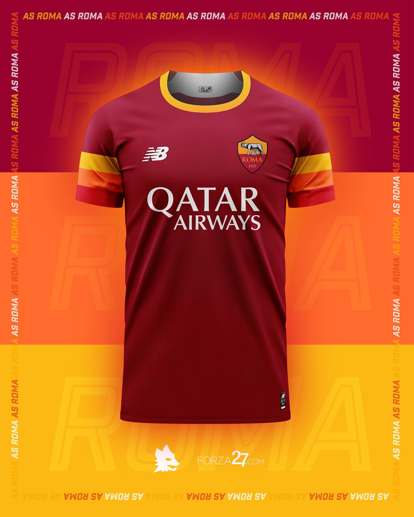 AS Roma x New Balance Kit Concepts – Forza27
